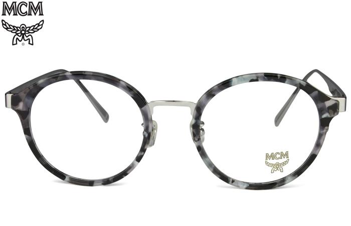 エムシーエム MCM MCM2115A 033 グレーマルチ/グレー 鼻パット 度無し/度付き メガネ 眼鏡 新品 送料無料