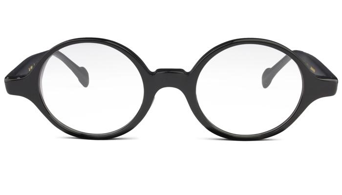 ユニオンアトランティック ua-360 c.1 ブラック 鼻盛り 丸型 メガネ 眼鏡 新品 送料無料