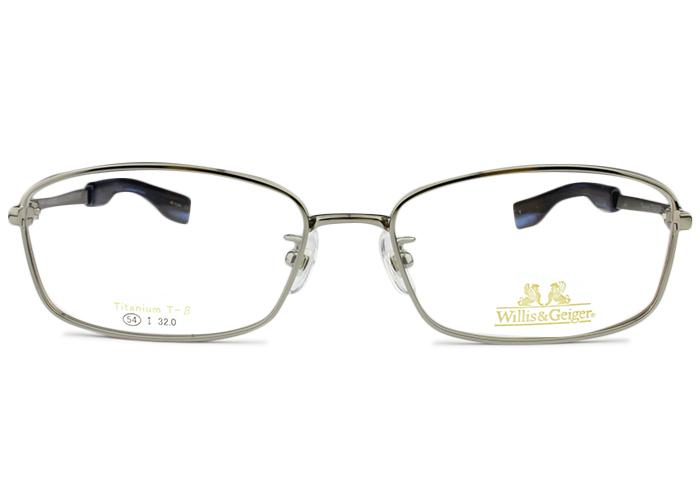 ウィリスアンドガイガー Willis&Geiger wg-1002 c.1 シルバーグレー メガネ 眼鏡 新品 送料無料