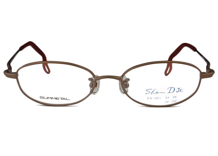 スレンディー Slen D sd-021 br50 ブラウン メガネ 眼鏡 伊達 新品 送料無料 sd2