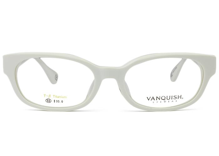 バンキッシュ ヴァンキッシュ VANQUISH VQ-5048 c.2 ホワイト/シルバー メガネ 眼鏡 新品 送料無料 vq1