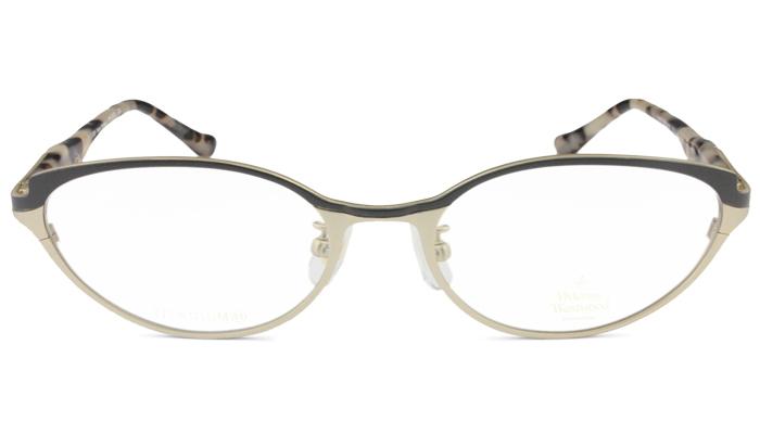 ヴィヴィアン ウエストウッド vw-5103 gb ゴールド/ブラック メガネ 眼鏡 鼻盛り Vivienne Westwood メンズ レディース 新品 送料無料