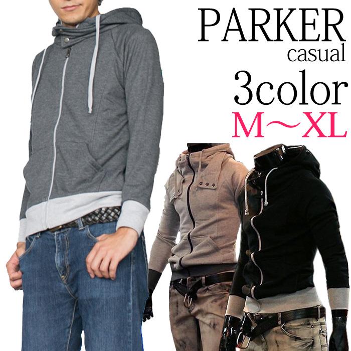 ライダースパーカー 男子帽衫運動衫外套夾克外車手運動衫羊脂自行車秋冬春,哥哥的 * 大眾可以訂購可以是組對順序。() fs04gm