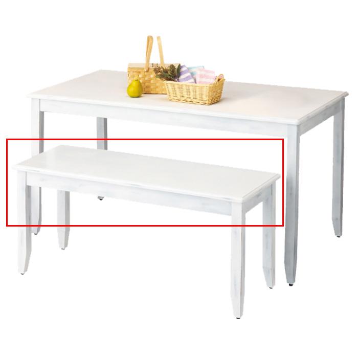 ナチュリアテーブル ディスプレイ用テーブル アンティーク調 Sサイズ 幅120cm 奥行45cm 高さ55cm ホワイト EX6-425-66-1【代金引換不可】【北海道・沖縄・離島送料別途】