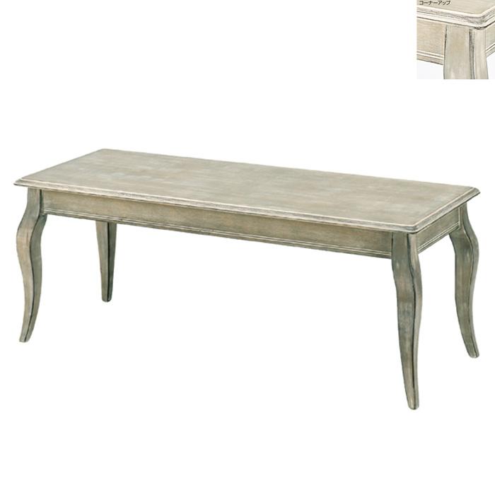 ディスプレイテーブル アンティーク加工 小サイズ 木製 グレー EX6-80-9-1【代金引換不可】【北海道・沖縄・離島送料別途】