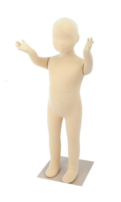 全身マネキン フレキシブルマネキン ベビーマネキン 80cm ウレタンボディ SM055-E80【北海道・沖縄・離島送料別途】