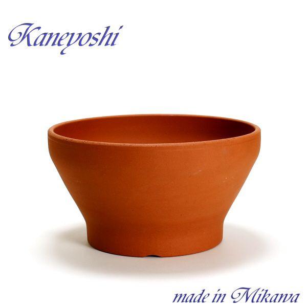 植木鉢 日本製の陶器鉢 室内 屋外でも 花やグリーンのある暮らし お気に入 陶器 おしゃれ 安くて丈夫 赤焼 31cm ナチュラル 日本 サイズ 10号