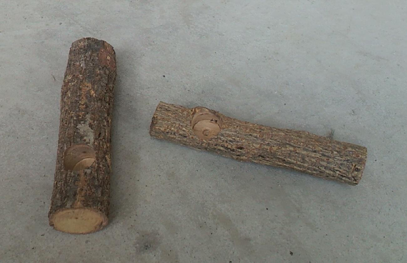 エサ皿付き SALE 転倒防止材 長さ約140~180ミリ ショッピング 止まり木