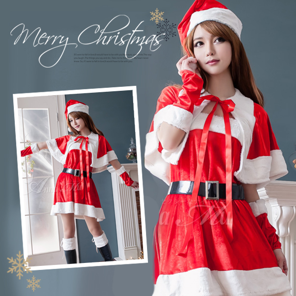 0b83e0f4d0da auc-double: Cosplay costume Christmas costume costume sexy Santa ...