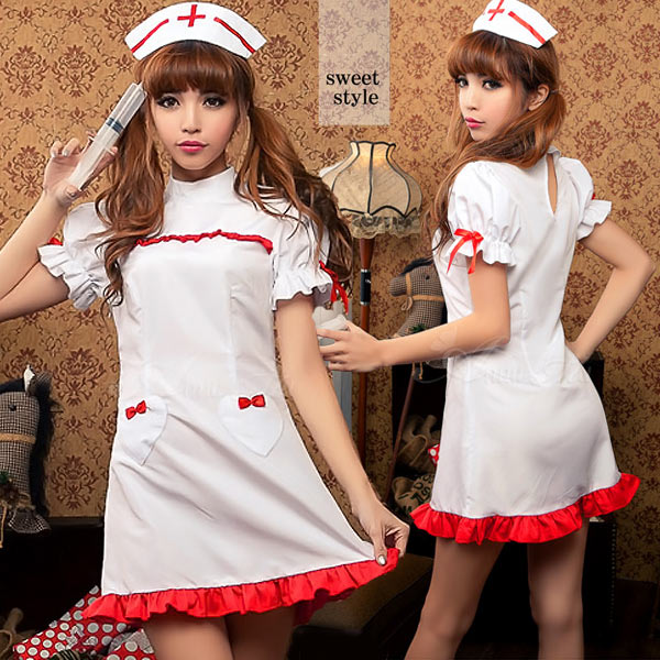 eb0eb2be91ed0 auc-double: Puffy nipples straining cosplay nurse nurse outfit ...