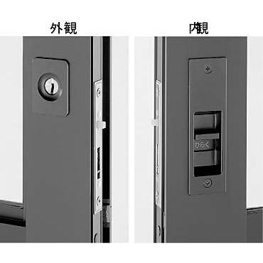 YKKAP 戸先 内外締り錠 HH-3K-17039