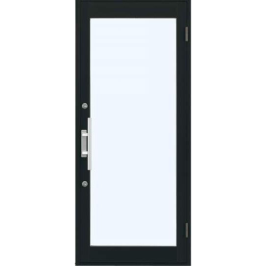 【エントリーでP10倍 9/25まで】YKKap 店舗ドア7TD 片開き 単板ガラス 2ロック仕様 中桟無し W868xH2018mm アルミサッシ 事務所ドア 汎用ドア