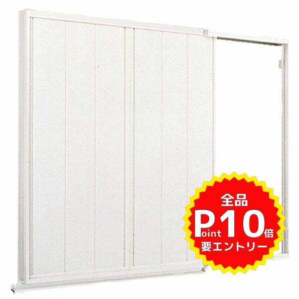 後付け雨戸 LIXIL/TOSTEM 雨戸一筋 半外付型 壁付タイプ Danパネル雨戸 2枚 鏡板無し戸袋 オーダーサイズ 幅一筋W1050~1539×高さ一筋H1819~2183mm 台風対策