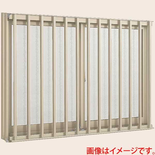 アルミサッシ 窓 縦面格子付引き違い 17605 W1800*H570 LIXIL/リクシル デュオPG アルミサッシ 引違い窓 リフォーム DIY