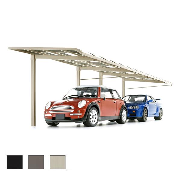 LIXIL/リクシル カーポート 2台用 レガーナポートシグマIII 縦連棟 一般タイプ 5730 雨樋なし W3025×L11334 駐車場 車庫 ガレージ 本体