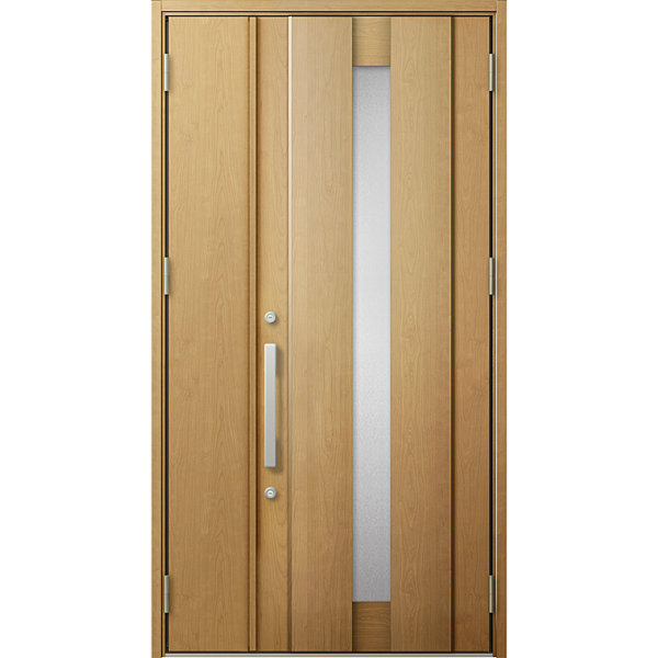 リクシル 断熱玄関ドア ジエスタ2 K4仕様 P19型 親子(採光なし)ドア トステム LIXIL TOSTEM GIESTA 住宅 玄関サッシ ドア 交換 リフォーム DIY