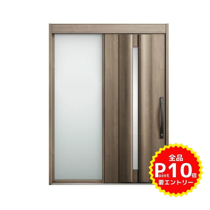 玄関引戸 リクシル エルムーブ2 L13型 片袖 本体鋼板仕様 呼称W169 W1692×H2288mm 玄関引き戸 LIXIL/TOSTEM トステム 玄関ドア サッシ リフォーム DIY