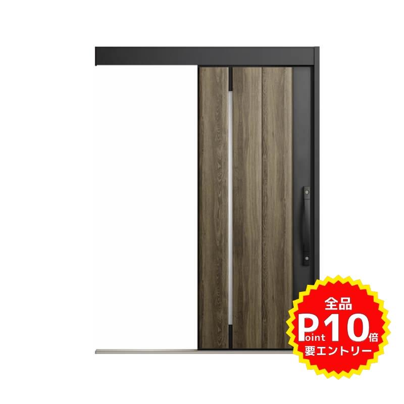 玄関引戸 リクシル エルムーブ2 L17型 一本引き 本体鋼板仕様 呼称W166 W1660×H2150mm 玄関引き戸 LIXIL/TOSTEM トステム 玄関ドア サッシ リフォーム DIY