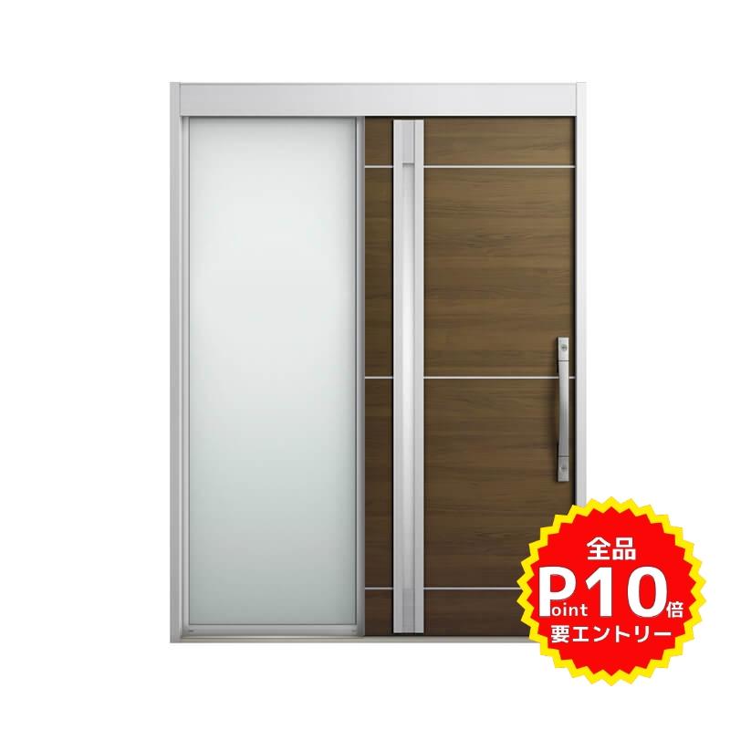 玄関引戸 リクシル エルムーブ2 L18型 片袖 本体鋼板仕様 呼称W187 W1870×H2288mm 玄関引き戸 LIXIL/TOSTEM トステム 玄関ドア サッシ リフォーム DIY