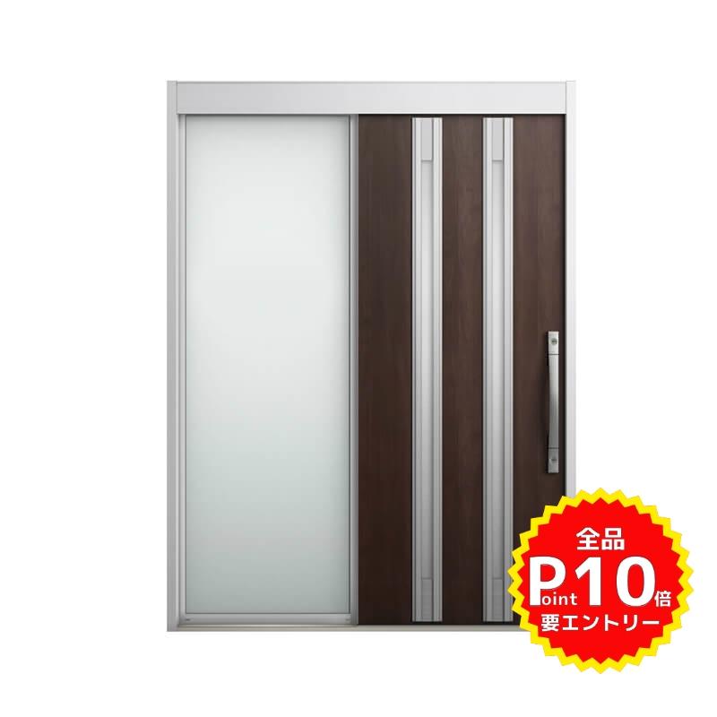 玄関引戸 リクシル エルムーブ2 L20型 片袖 本体鋼板仕様 呼称W169 W1692×H2288mm 玄関引き戸 LIXIL/TOSTEM トステム 玄関ドア サッシ リフォーム DIY