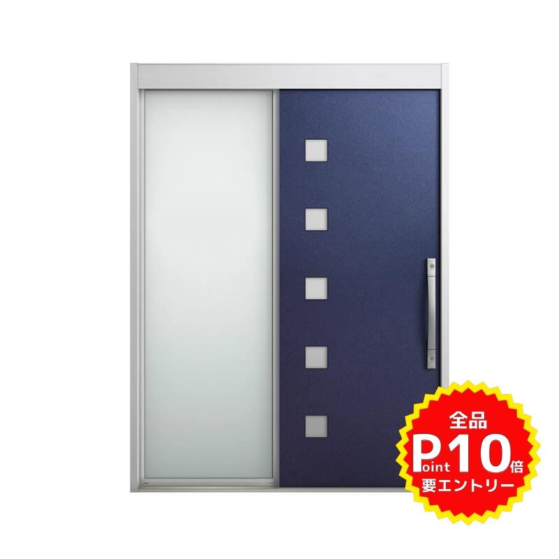 玄関引戸 リクシル エルムーブ2 L21型 片袖 本体鋼板仕様 呼称W164 W1640×H2288mm 玄関引き戸 LIXIL/TOSTEM トステム 玄関ドア サッシ リフォーム DIY