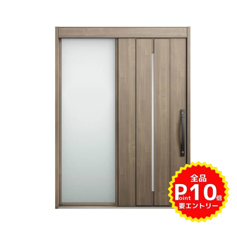 玄関引戸 リクシル エルムーブ2 L22型 片袖 本体鋼板仕様 呼称W169 W1692×H2288mm 玄関引き戸 LIXIL/TOSTEM トステム 玄関ドア サッシ リフォーム DIY