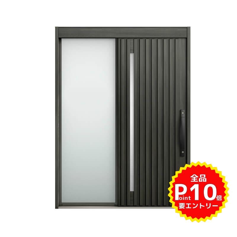 玄関引戸 リクシル エルムーブ2 L23型 片袖 本体鋼板仕様 呼称W169 W1692×H2288mm 玄関引き戸 LIXIL/TOSTEM トステム 玄関ドア サッシ リフォーム DIY