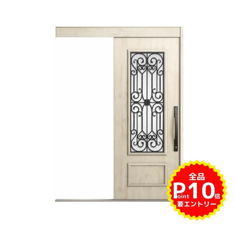 玄関引戸 リクシル エルムーブ2 L63型 一本引き 本体鋼板仕様 呼称W160 W1608×H2150mm 玄関引き戸 LIXIL/TOSTEM トステム 玄関ドア サッシ リフォーム DIY