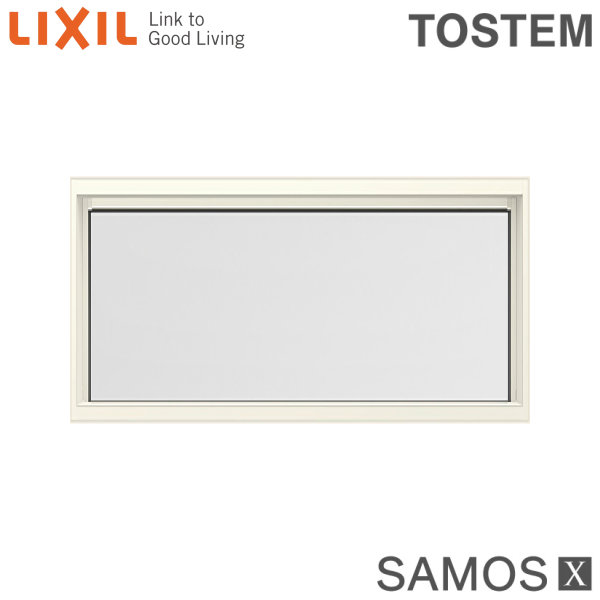 高性能ハイブリッド窓 サッシ LIXILサーモスX 3月はエントリーでP10倍 樹脂アルミ複合サッシ FIX窓 未使用品 内押縁タイプ サーモスX LOW-E複層ガラス 半外型 11907 アルゴンガス入 LIXIL 一部予約 W1235×H770