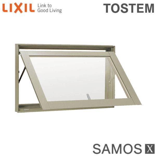 樹脂アルミ複合サッシ 横すべり出し窓(グレモン) 06003 W640×H370 LIXIL サーモスX 半外型 LOW-E複層ガラス(アルゴンガス入)