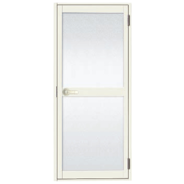 Original bathroom door frame with LIXIL lixil Tostem long color for the bathroom lever handle specifications resin Panel white W600xH1732 (06-17) right ceiling