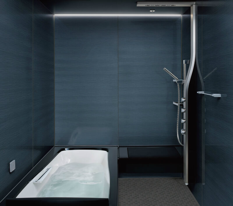 システムバスルーム スパージュ PZタイプ 1216(1200mm×1600mm)サイズ 全面張り マンション用ユニットバス システムバス リクシル LIXIL 高級 浴槽 浴室 お風呂 リフォーム
