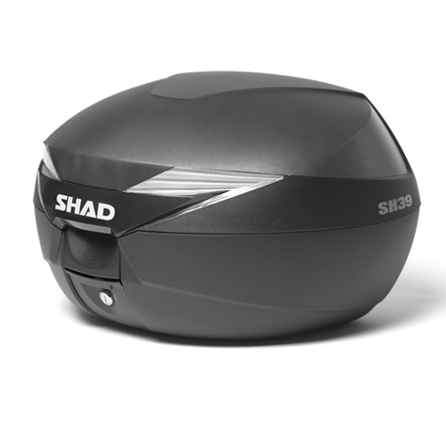 バイク リアボックス ハードケース SHAD SH39 リアボックス 無塗装ブラック 【取り寄せ】