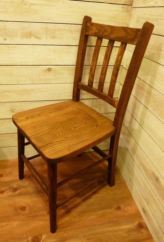 [カントリー家具] カントリーチェアー【送料無料】 学習机に!子供用チェアー(いす 椅子)ダイニングチェアー ナチュラル[完成品]