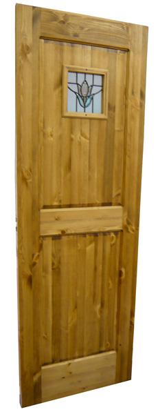 [カントリー家具] 室内用ドア(ステンドガラス)【送料無料】模様替えに![完成品]木製 ナチュラル カントリーテイスト フレンチカントリー モダン 無垢