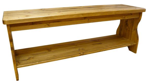 [カントリー家具]カントリーベンチ(リビングチェアー)【送料無料】[完成品]木製 ナチュラル カントリーテイスト フレンチカントリー モダン 無垢