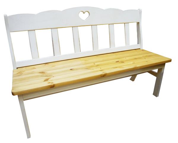 [カントリー家具]ラスティックベンチチェアー【送料無料】パイン家具 チェアー ベンチ リビングチェアーに![完成品]木製 ナチュラル カントリーテイスト フレンチカントリー モダン 無垢
