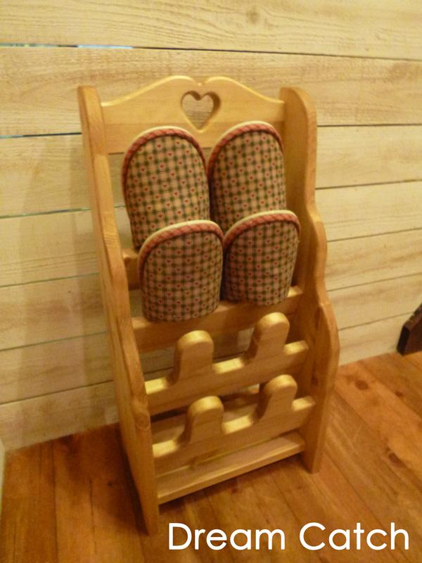 [カントリー家具] スリッパラック(置き型) [完成品]木製 ナチュラル カントリーテイスト フレンチカントリー モダン 無垢