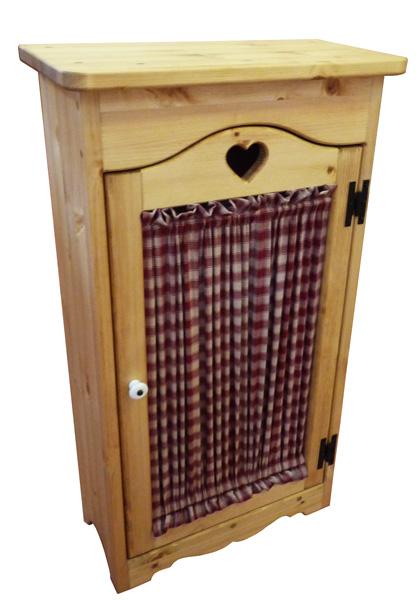 [カントリー家具] 木製 キャビネット(リビング収納、デンワ台、サニタリー収納に)【送料無料】[完成品]木製 ナチュラル カントリーテイスト フレンチカントリー モダン 無垢