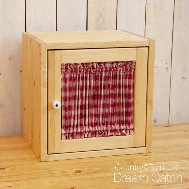 [カントリー家具 収納]【送料無料】キューブBOX3(マルチキャビネット ボックスキャビネット)[完成品]木製 ナチュラル カントリーテイスト フレンチカントリー モダン 無垢