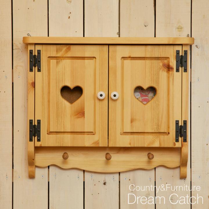 [カントリー雑貨]扉付きコルクボード(壁掛けフック付)[完成品]木製 ナチュラル カントリーテイスト フレンチカントリー モダン 無垢
