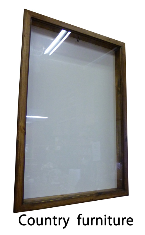 [カントリー家具]ユニフォームフレーム(サッカー 野球) [完成品]木製 ナチュラル カントリーテイスト フレンチカントリー モダン 無垢