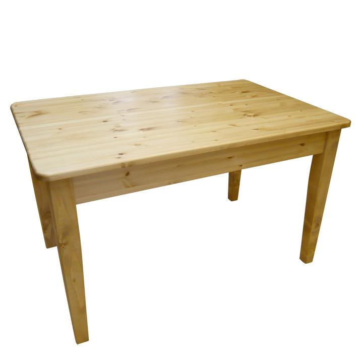 [カントリー家具] ダイニングテーブルW1200【送料無料】パイン材 テーブル 食卓テーブル [完成品]木製 ナチュラル カントリーテイスト フレンチカントリー モダン 無垢