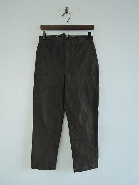 オウンガーメントプロダクツ Own GArment products コットンリネンパンツ 2【中古】【72J71】【高価買取中】【店頭受取対応商品】