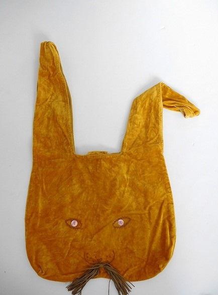 ミナペルホネン mina perhonen usa bag うさバッグ大【中古】【72J71】【高価買取中】【店頭受取対応商品】