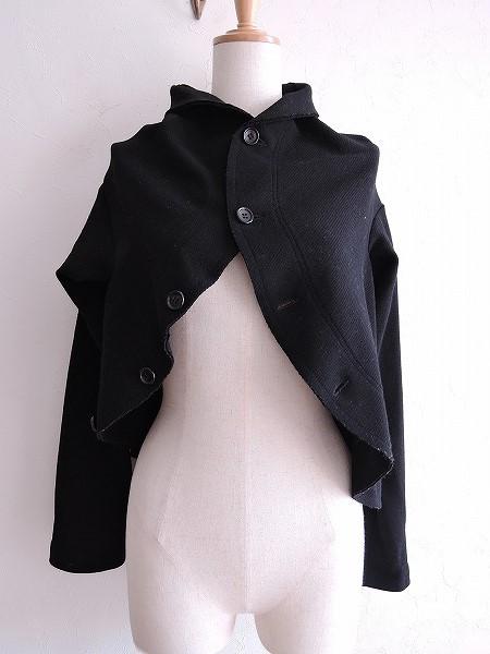 コムデギャルソン COMME des GARCONS ウール混ニットデザインジャケット M【中古】【80L71】【高価買取中】【店頭受取対応商品】