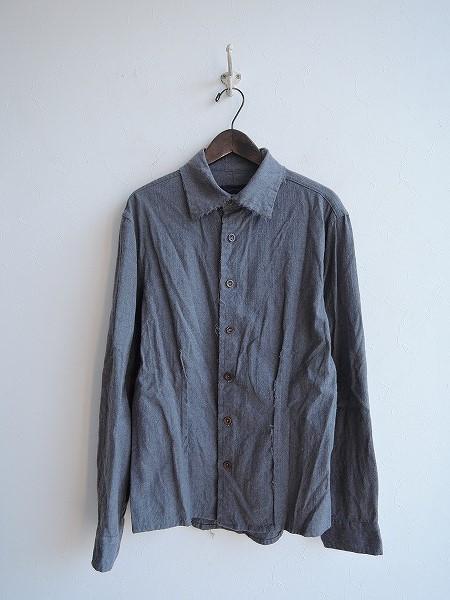 シェヴィダレン Chez VIDALENC ウールシャツ 3【中古】【60B81】【高価買取中】【店頭受取対応商品】