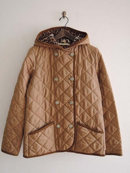 トラディショナルウェザーウェア Traditional Weatherwear フード付キルティングジャケット 34【中古】【10C81】【高価買取中】【店頭受取対応商品】