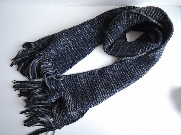 インヴェルニ inverni Knitted Scarf ニットスカーフ【中古】【52C81】【高価買取中】【店頭受取対応商品】