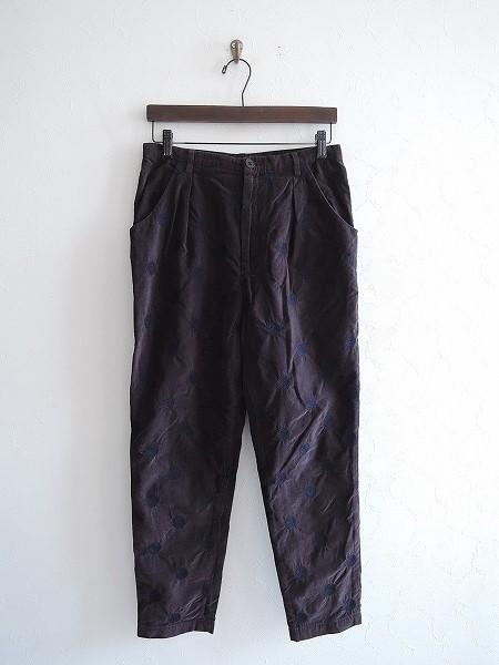 ミナペルホネンランドリー mina perhonen laundry vapor ドット柄パンツ 38【中古】【52D81】【高価買取中】【店頭受取対応商品】